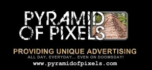 Pyramid of Pixels Logo