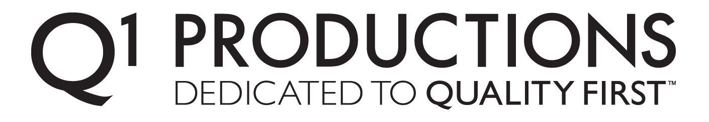 Q1 Productions Logo
