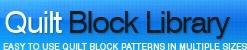 QuiltBlockLibrary.com Logo