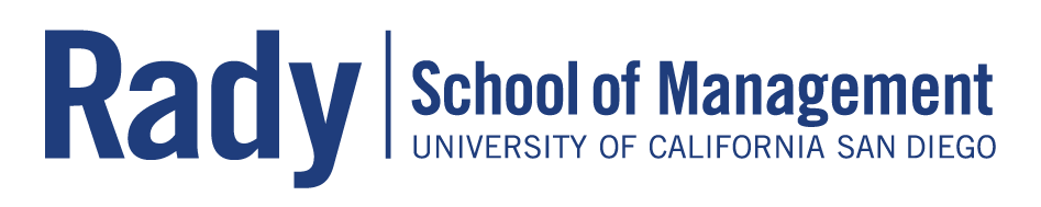 Rady School of Management Logo