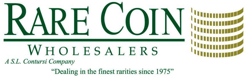 Rare Coin Wholesalers Logo