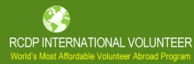 RCDP International Volunteer Program Logo