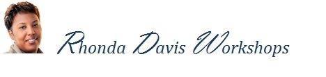 Rhonda Davis Workshops & Events Logo