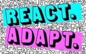 React. Adapt. Logo