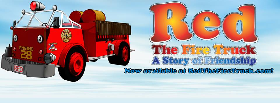 Red the Fire Truck: A Story of Friendship Logo