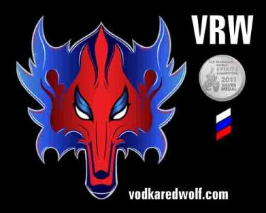REDWOLF VODKA Logo