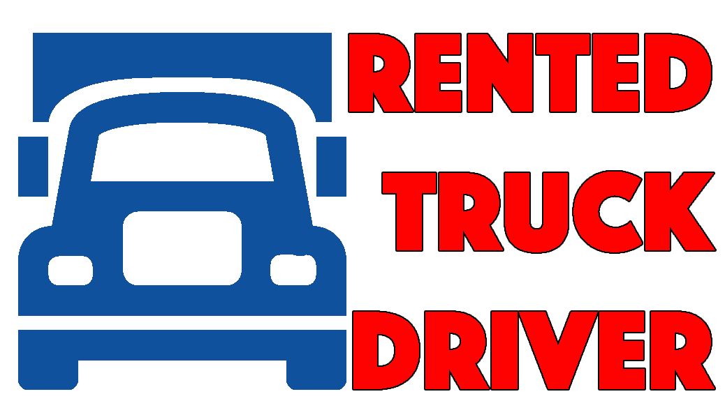 Rented Truck Driver Logo