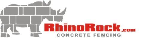 RhinoRock Concrete Fencing Logo