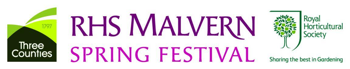 RHS Malvern Spring Festival Logo