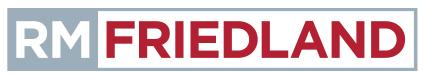 RM Friedland Logo