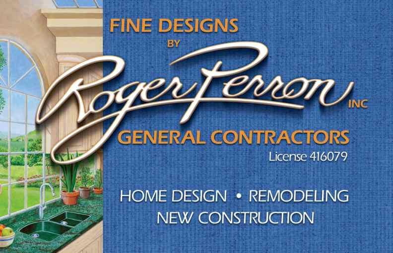 Roger Perron Design and Construction Logo