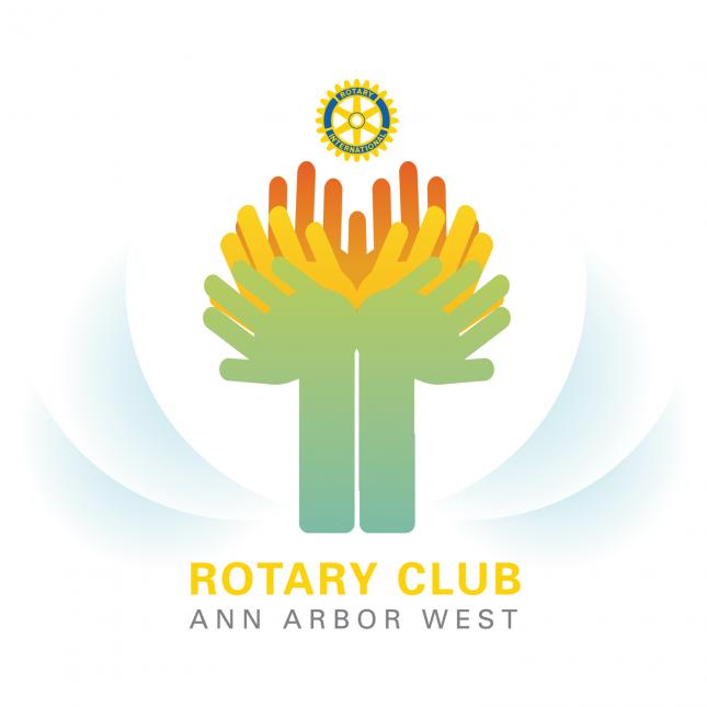 Rotary Ann Arbor West Logo