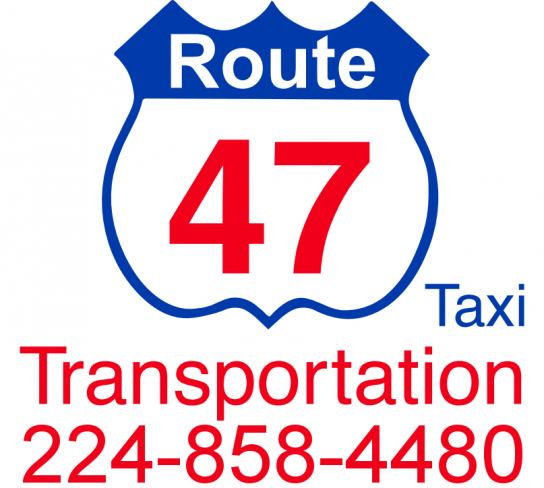 Route 47 Taxi Transportation, Inc. Logo