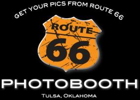 route66photoboothokc Logo
