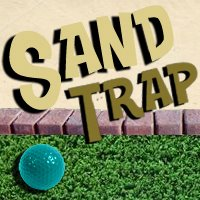 Sand Trap Mini Golf Logo