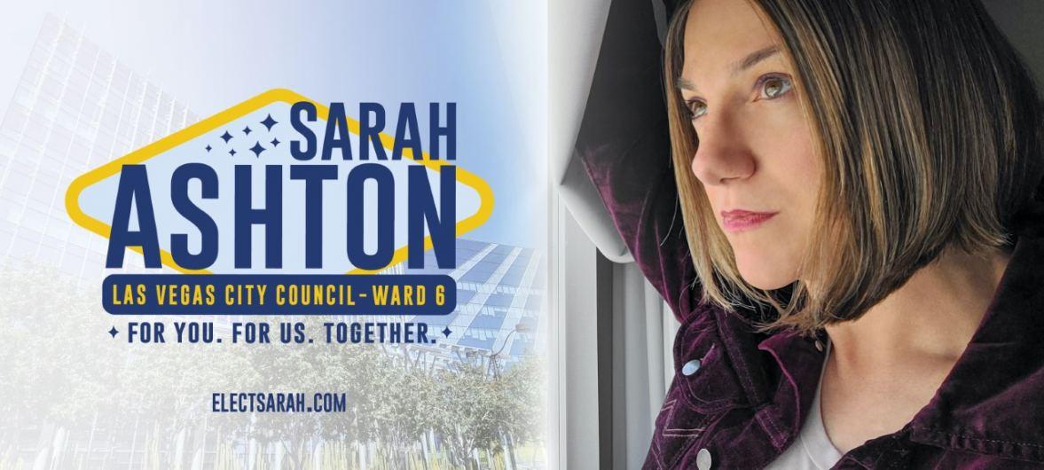 Campaign to Elect Sarah Ashton Logo