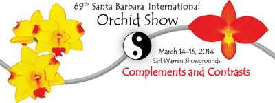 Santa Barbara International Orchid Show Logo