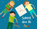 School Can Be Fun Logo