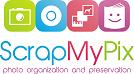 ScrapMyPix Logo