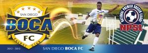 San Diego Boca FC Logo