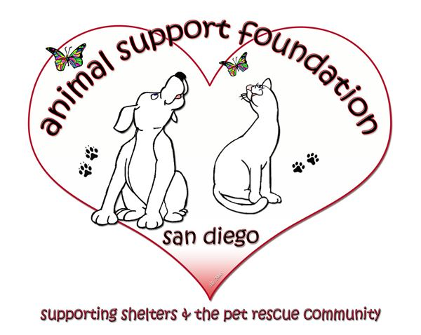 San Diego Animal Support Foundation Logo