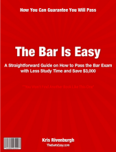 The Bar Exam Is Easy Logo
