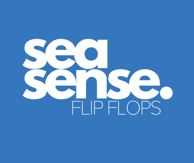 Sea Sense Flip Flops Logo