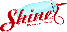 Shine Window Care & Holiday Lighting Logo
