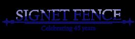 Signet Fence Logo