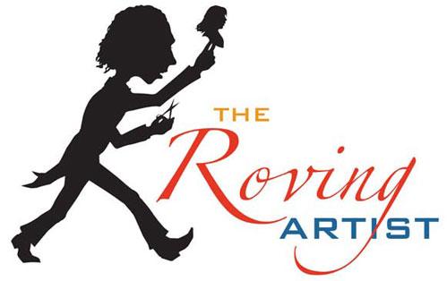 The Roving Artist Logo