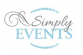 Simply Events, LLC Logo
