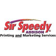 Sir Speedy Addison Logo