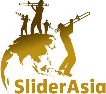 SliderAsia Trombone Festival Logo