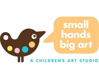 small hands big art Logo