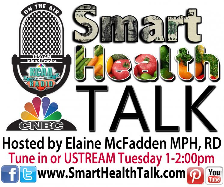 Smart Health Talk Radio Show Logo