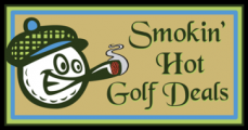 Smokin' Hot Golf Deals Logo