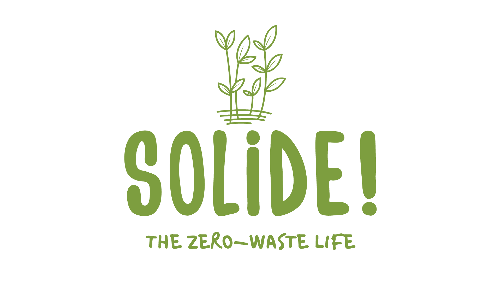 Solide! The Zero Waste Life Logo
