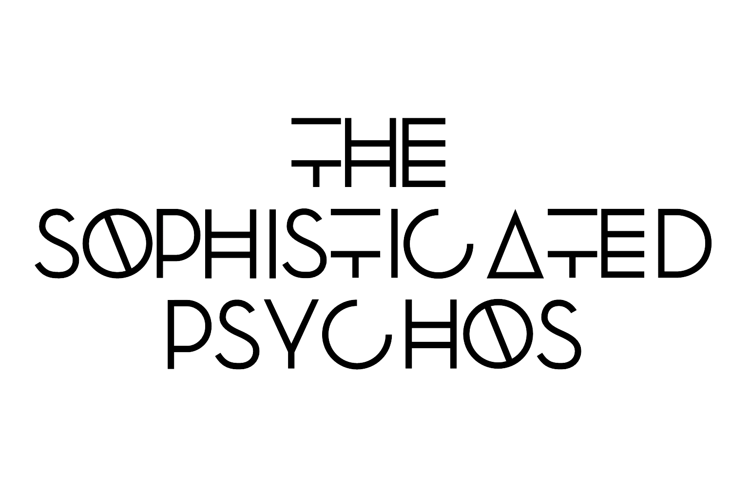 The Sophisticated Psychos Logo