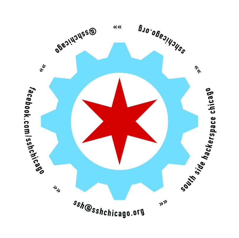 Southside Hackerspace: Chicago Logo