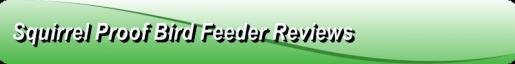 squirrel proof bird feeder reviews Logo