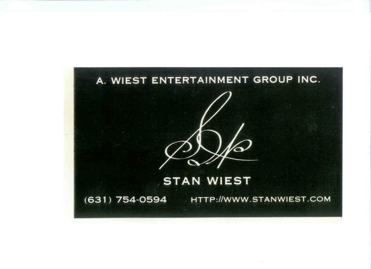 A.STAN WIEST MUSIC Logo