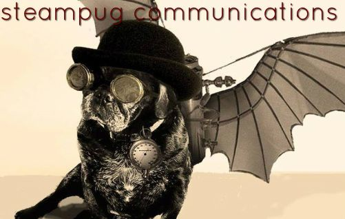 Steampug Communications, LLC Logo