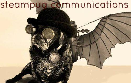 Steampug Communications, LLC Logo