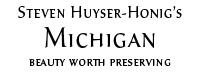 Steven Huyser-Honig's Michigan Logo