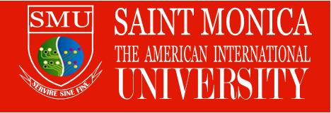 St. Monica University Logo