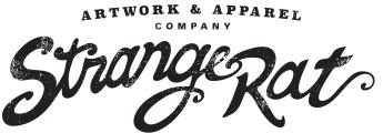 StrangeRat Artwork & Apparel Company Logo
