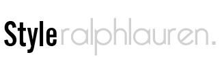 Styleralphlauren.com sell best ralph lauren polos Logo