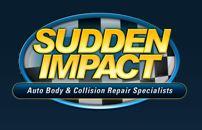 Sudden Impact Auto Body Logo