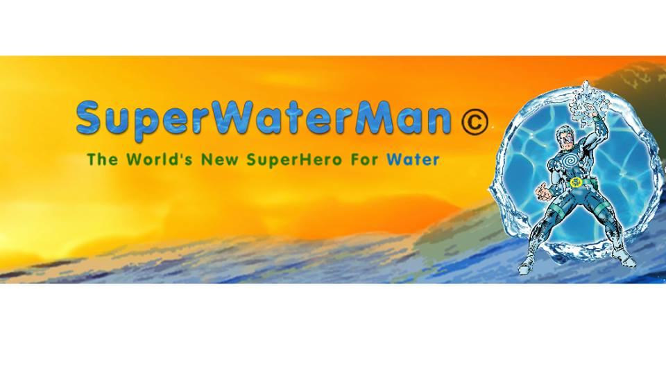 SuperWaterMan Studios Logo