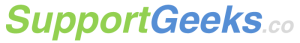 SupportGeeks.co Logo